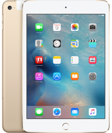 Apple iPad mini 4 Wi-Fi + Cellular 128GB Gold