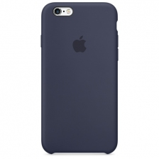 iPhone 6 Plus/6s Plus Silicone Case - Midnight Blue