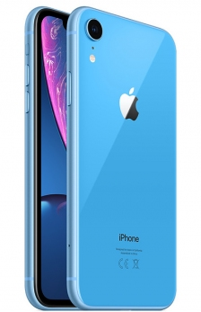 Apple iPhone Xr - 64GB Blue (DUAL SIM)
