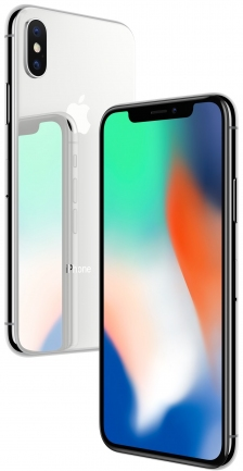 Apple iPhone X - 256GB Silver CPO