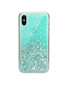 Чехол Switcheasy Starfield Case для iPhone X\XS Mint