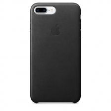 iPhone 7 Plus/8 Plus Leather Case - Black