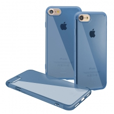 Чехол Baseus Simple Series Case (Anti-scratch) for iPhone 7 Plus/8 Plus Blue