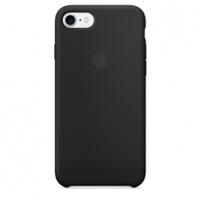 iPhone 7/8 Silicone Case - Black