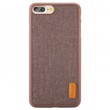 Чехол Baseus Grain Case For iPhone 7 Plus/8 Plus Brown