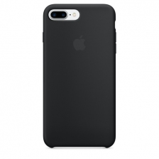 iPhone 7 Plus/8 Plus Silicone Case - Black