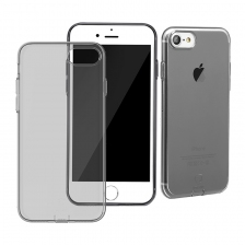 Чехол Baseus Simple Series Case (With-Pluggy) for iPhone 7/8 Black