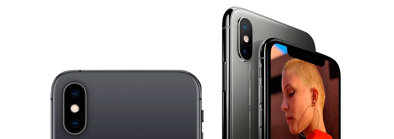 iPhone X s двойная камера