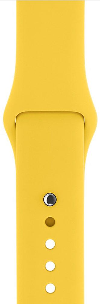 Ремешок Yellow Sport Band for Apple Watch 42\44 mm