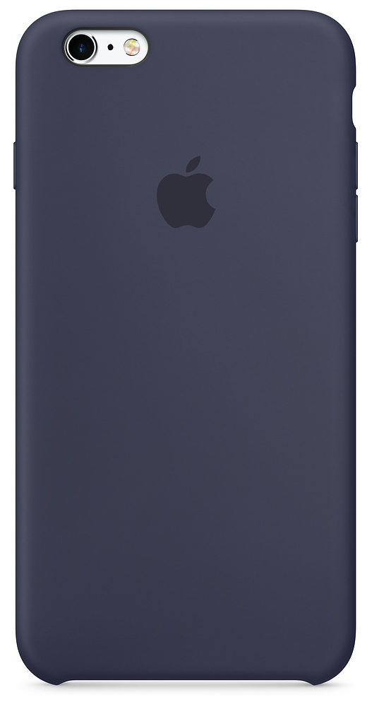 iPhone 6/6s Silicone Case — Midnight Blue