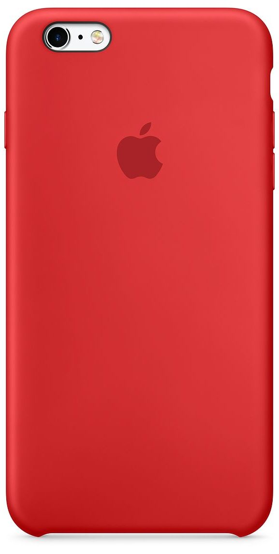 iPhone 6 Plus/6s Plus Silicone Case — (PRODUCT)RED