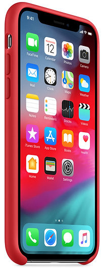 Чехол iPhone X/Xs Silicone Case - (PRODUCT)RED