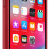 Чехол iPhone X/Xs Leather Case - (PRODUCT)RED 8638