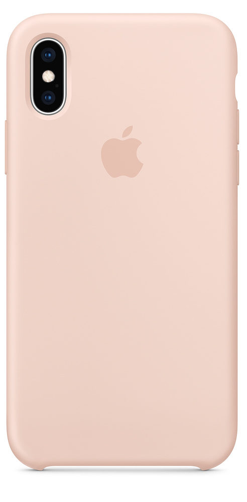 Чехол iPhone X/Xs Silicone Case — Pink Sand (копия)