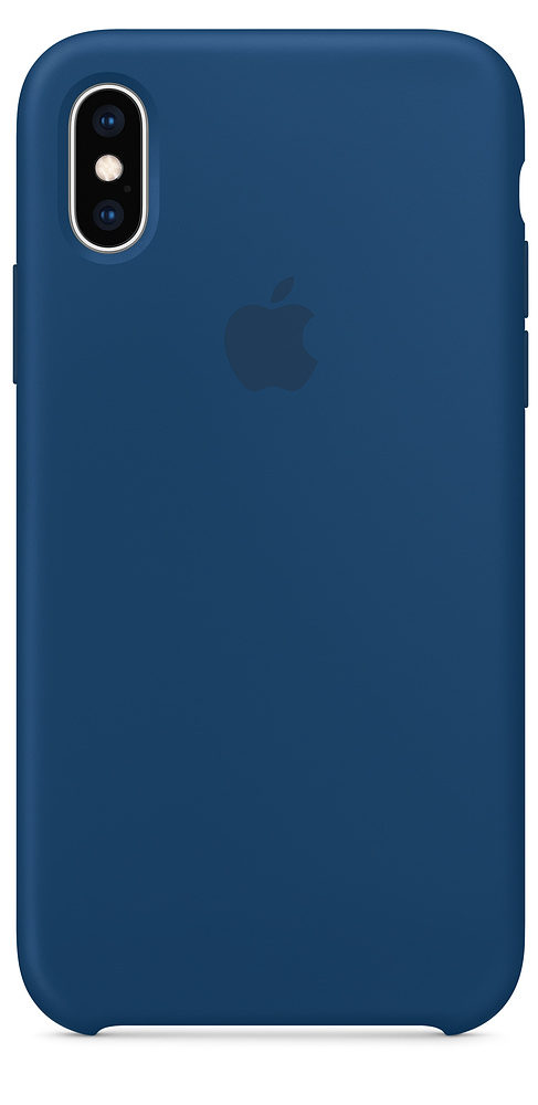 Чехол iPhone X/Xs Silicone Case — Blue Horizon (копия)