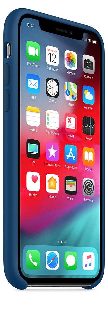 Чехол iPhone XS Max Silicone Case - Blue Horizon