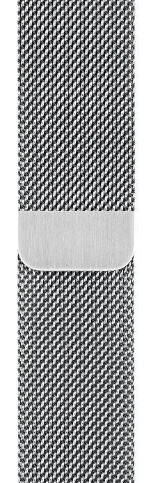 Ремешок  Milanese Loop Silver для Watch 42/44 mm