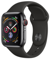 Apple Watch 4 40mm Space Black MTVL2