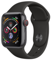 Apple Watch Series 4 40mm Space Gray MTVD2