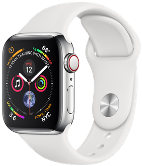 Apple Watch Series 4 40mm Stainless Steel MTVJ2