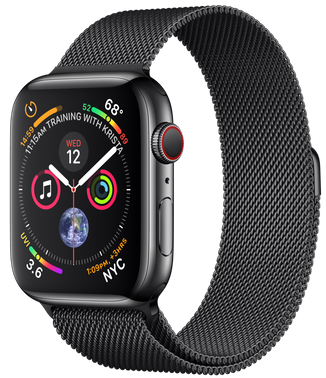 Apple Watch Series 4 44mm Space Black MTX32