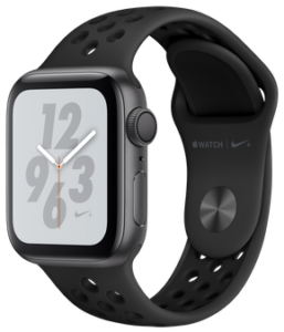 Apple Watch Nike Series 4 (GPS) 40mm Space Gray Aluminum Case with Anthracite/Black Nike Sport Band MU6J2