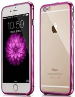 Бампер Xoomz Brushed Aluminium iPhone 6/6S Pink