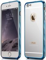 Бампер Xoomz Mirror Back Cover Case iPhone 6/6S Blue