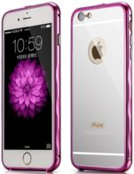 Бампер Xoomz Mirror Back Cover Case iPhone 6/6S Pink