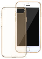 Чехол Baseus Simple Series Case (With-Pluggy) for iPhone 7 Plus/8 Plus Gold