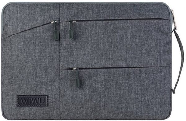 Сумка WIWU Pocket Sleeve для MacBook 15″ Gray