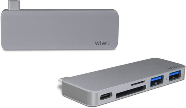WIWU Adapter T6 Gray