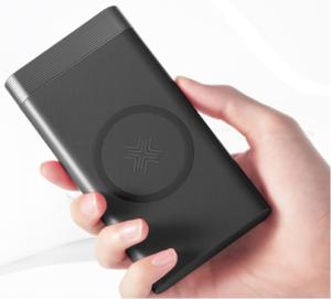 Беспроводной внешний аккумулятор Power bank Rock P55 10000 mAh