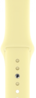 Apple Mellow Yellow Sport Band для Watch 42/44 mm (MTPV2)