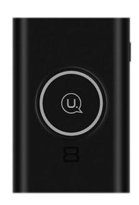 Беспроводной внешний аккумулятор Usams Wireless Power Bank 8000mAh Black