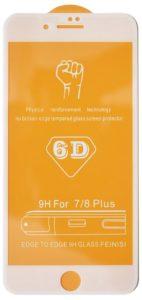 Защитное стекло 6D для iPhone 7/8 Plus
