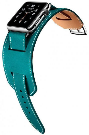 Ремешок Hermes cuff Leather /mixed color/ для Watch 38/40 mm