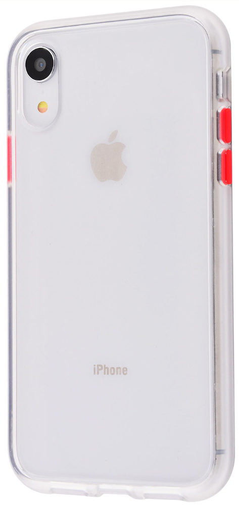 Чехол iPhone XR Totu Gingle series /transparent/red