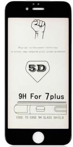 Защитное стекло 5D для iPhone 7/8 Plus