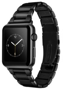 Ремешок Apple watch 38/40 mm Metall old 3-bead /black/