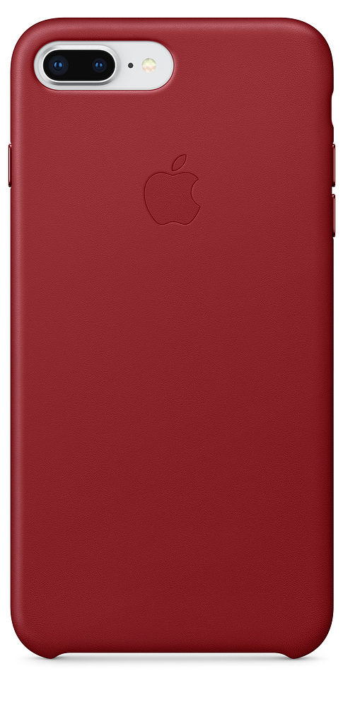 Чехол iPhone 7 Plus/8 Plus Leather Case - (PRODUCT)RED