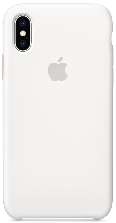 Чехол iPhone X/Xs Silicone Case — White (копия)