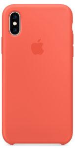 Чехол iPhone Xs Max Silicone Case - Nectarine
