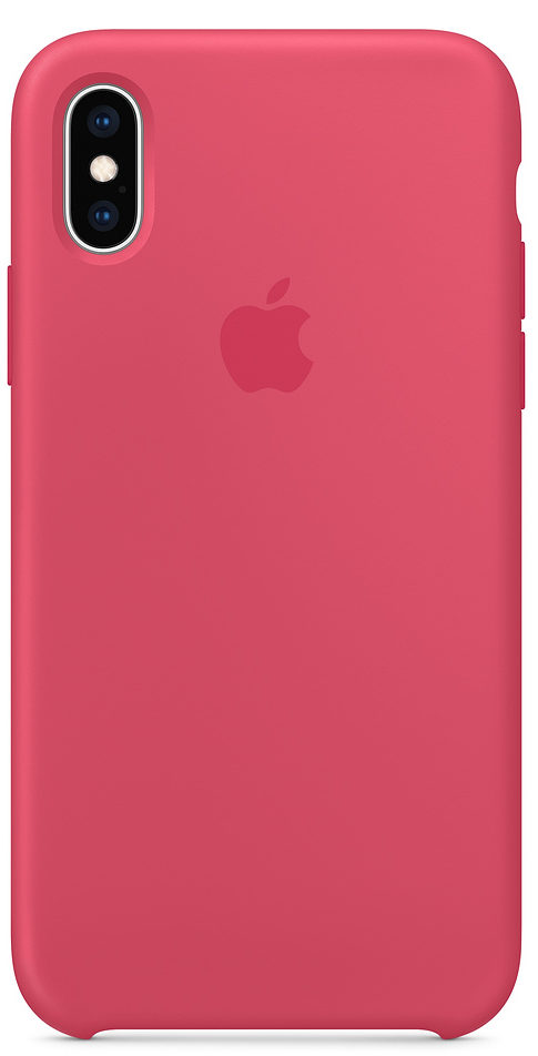 Чехол iPhone Xs Max Silicone Case - Hibiscus