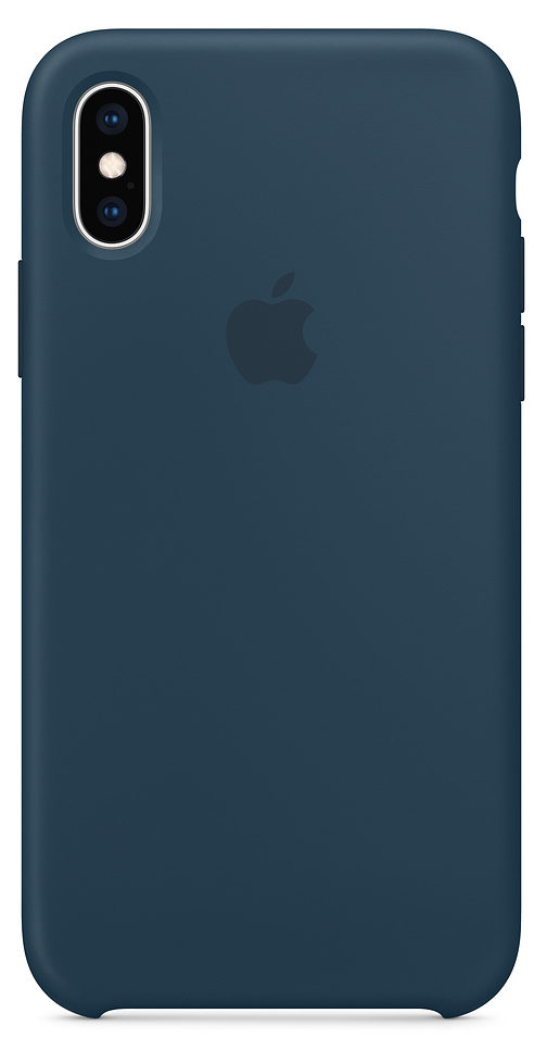 Чехол iPhone X/Xs Silicone Case — Pacific Green (копия)