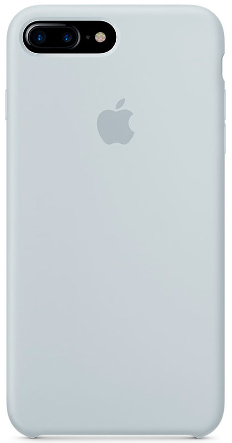 Чехол iPhone 7 Plus/8 Plus Silicone Case — Mist Blue (копия)