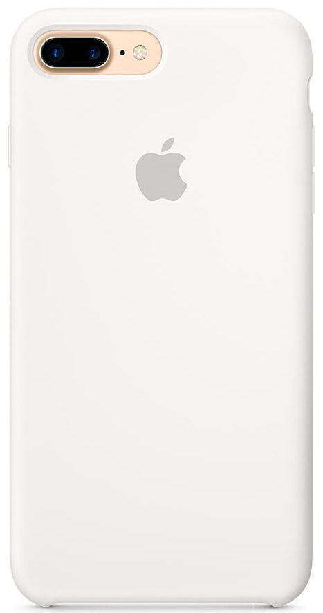 Чехол iPhone 7 Plus/8 Plus Silicone Case — White (копия)
