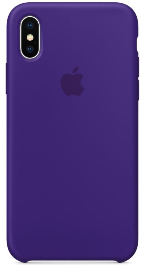 Чехол iPhone X/Xs Silicone Case —Ultra Violet (копия)