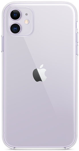 Чехол iPhone 11 Clear Case