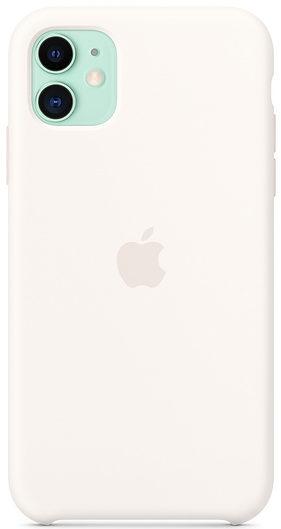 Чехол iPhone 11 Silicone Case - White